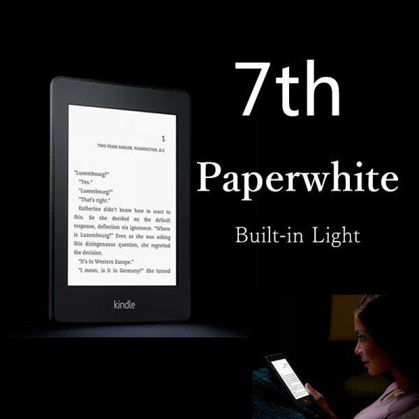 Новинка! Электронная книга Kindle Paperwhite 7