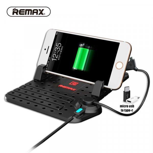 Автомобильный держатель для телефона с USB