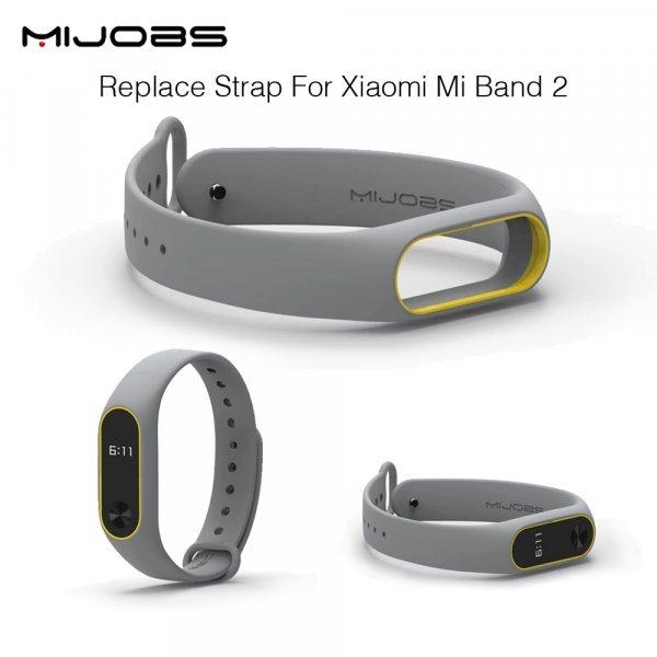 Сменный ремешок Mijobs для Xiaomi Mi Band 2 (15 цветов)