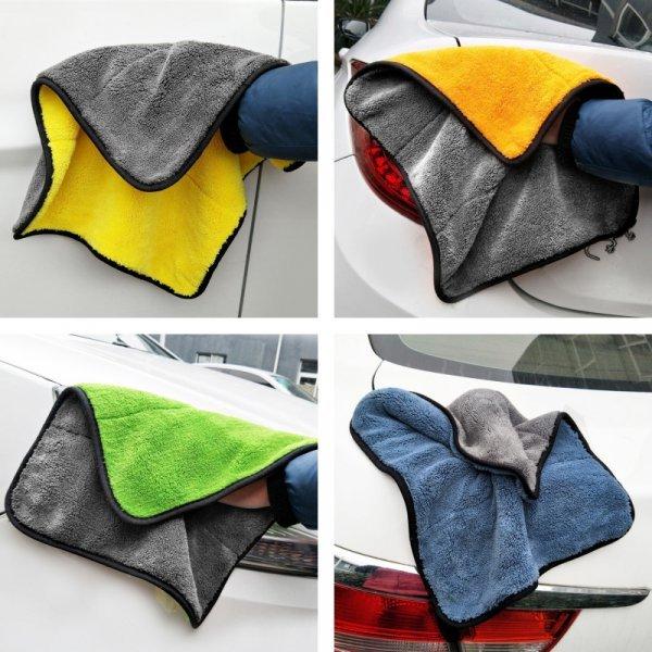 Полотенце из микрофибры для сушки авто Korper besonders  (4 цвета, 30*30 см)