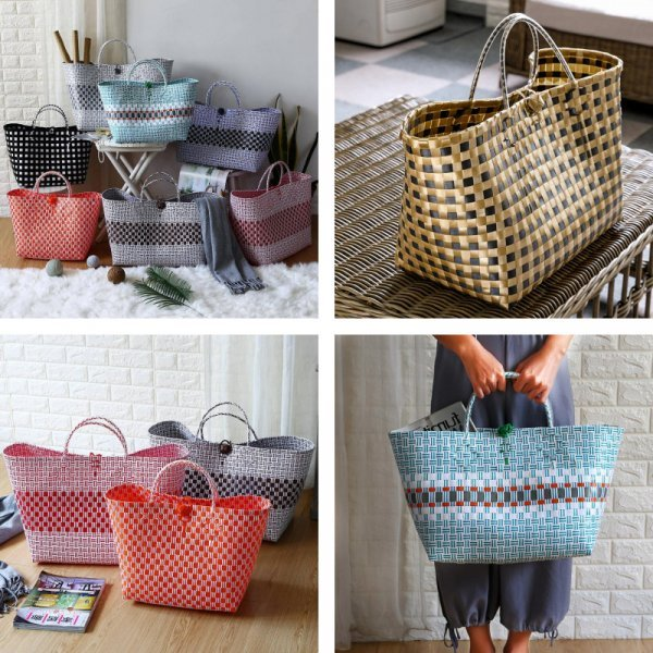 Плетеная сумка (2 размера)