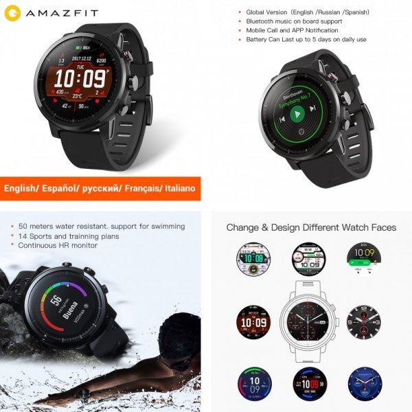 Смарт-часы Huami Amazfit Stratos 2 - бомба!
