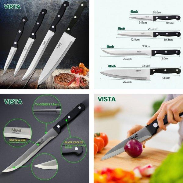 Набор ножей MYVIT - мечта хозяйки (3 шт - 32 см, 23.3 см, 20 см)