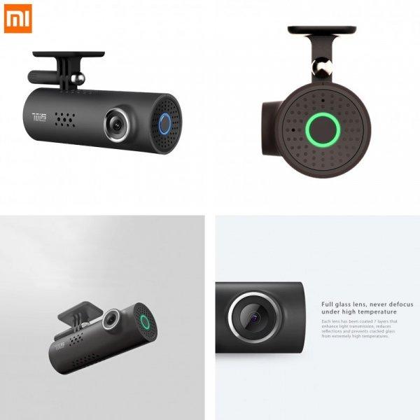 Автомобильный видеорегистратор Xiaomi  Smart WiFi (130 градусов)
