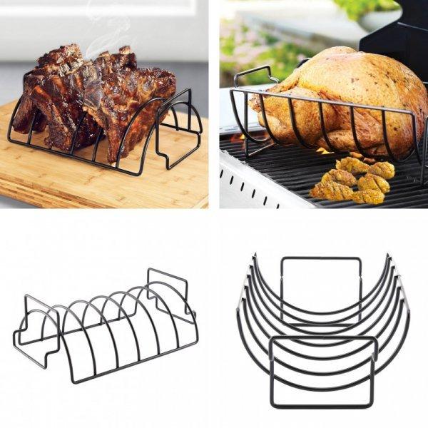 Подставка для жарки мяса на гриле Monokweepjy (11.5*35 см)