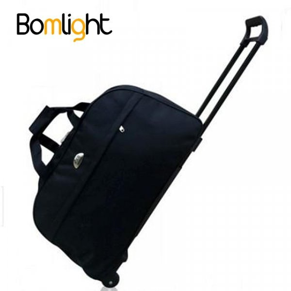 Дорожная сумка на колесиках Bomlight (52*32*23 см, 23 цвета)