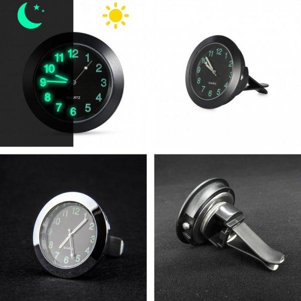 Кварцевые часы с зажимом для Audi
