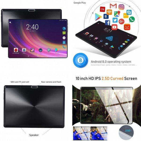 "Планшет Perkbox Android 7,0 Octa Core 4 ГБ 10"""
