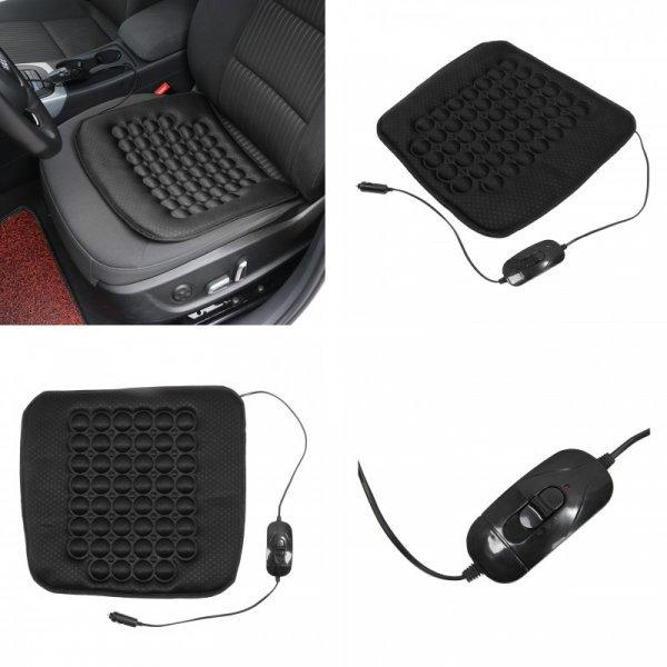 Электрическая накидка в кресло авто Sikeo так согревает