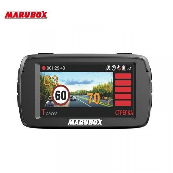 Видеорегистратор для авто MARUBOX M600R Full HD 1080P 170° ( 3 в 1 )