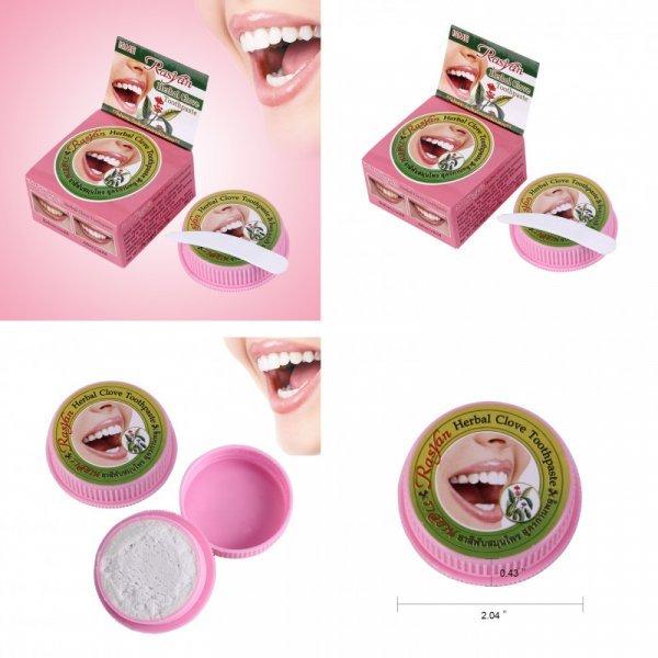 Натуральная травяная зубная паста RASYAN