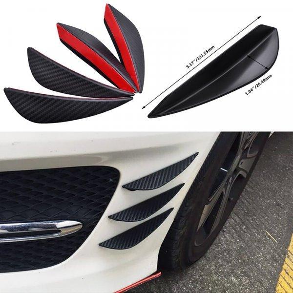 Накладки на бампер автомобиля ESPEEDER (4 шт, передние)