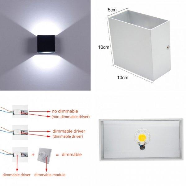 Настенный светильник Feimefeiyou (2 цвета)