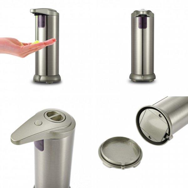 Чудесный автоматический дозатор для мыла Jqyohou с ЖК-экраном (280 мл)