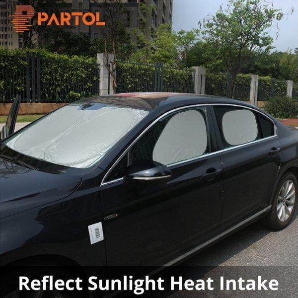 Солнцезащитные шторки для авто (4 щт)