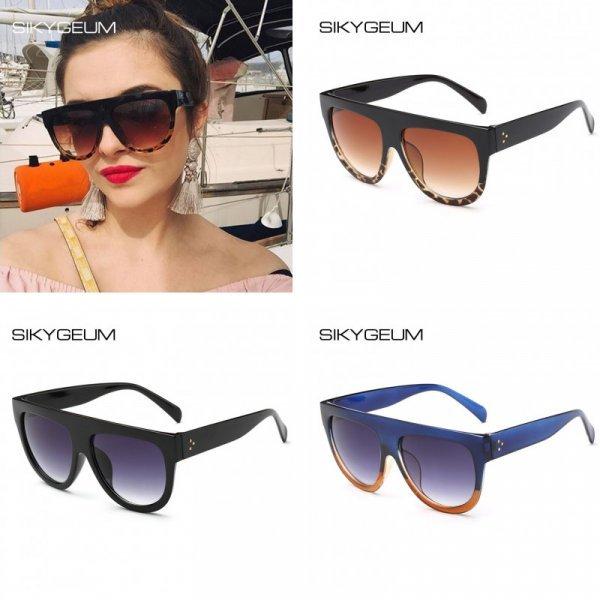 Супер очки от солнца для женщин SIKYGEUM (UV400, 7 цветов)