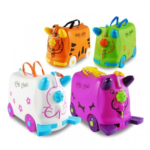 Детский чемодан на колесиках INFEYLAY (до 50 кг)