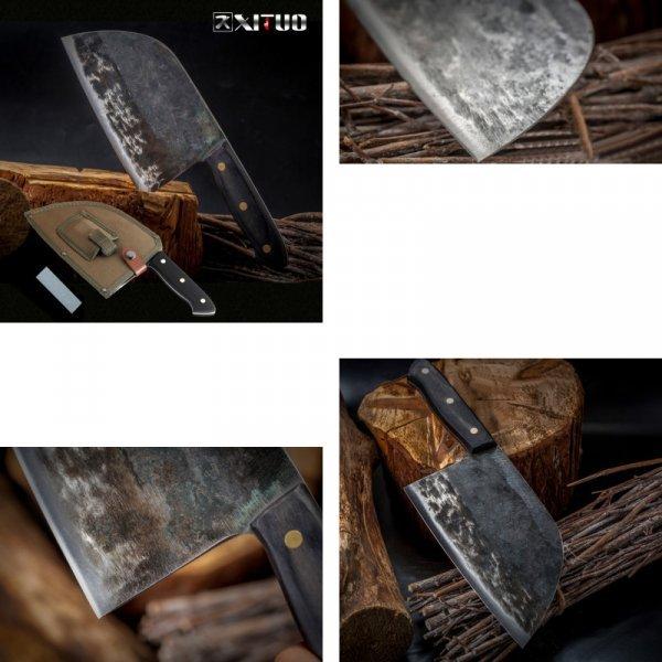 Острый нож для мяса XITUO с чехлом