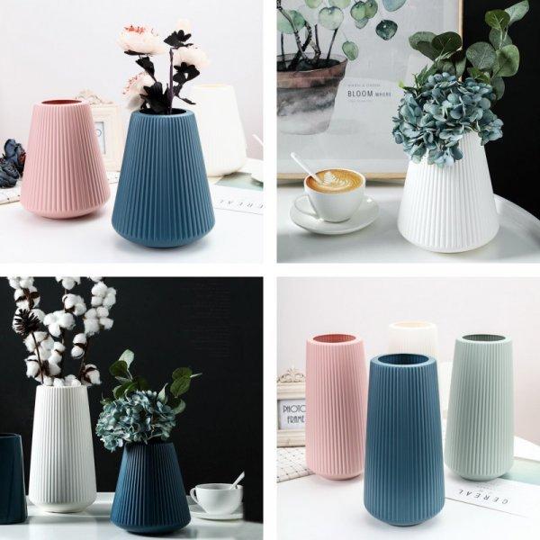 Высокая ваза (4 цвета, 2 вида)
