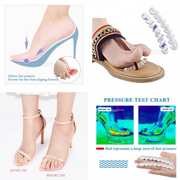 Нескользящие наклейки в обувь Sunvo  (2 шт)