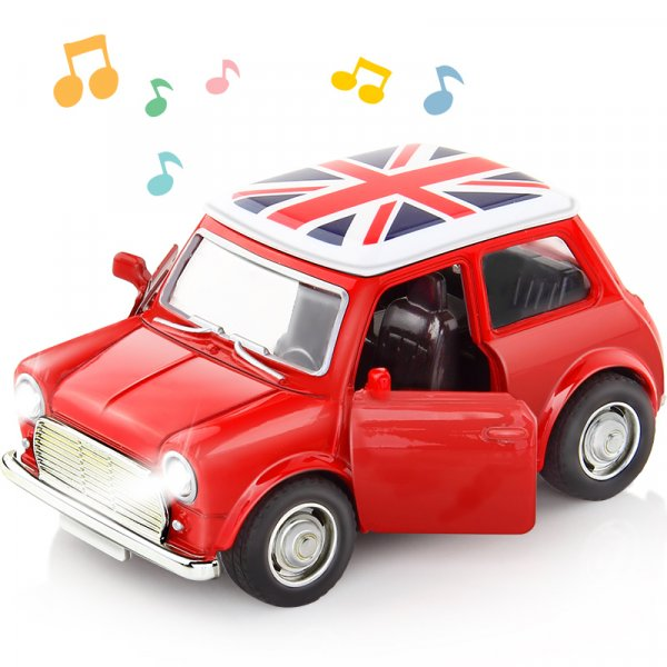 Милый автомобильчик DODOELEPHANT со звуком и светом фар