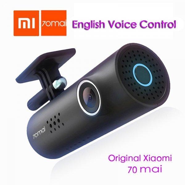 Видеорегистратор Xiaomi  (Wi-Fi 130 градусов G- senso)