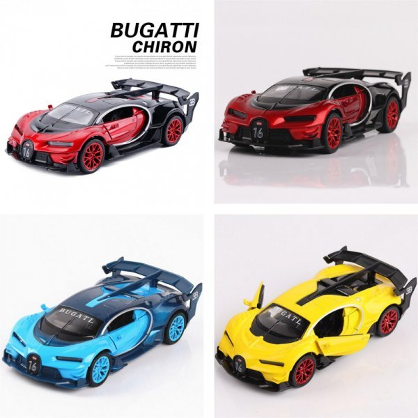 Модель Bugatti GT выглядит как настоящая