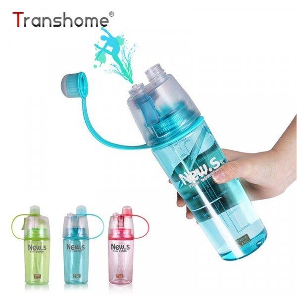 Бутылка для питья с распылителем Transhome (0.6 л и 0.4 л)
