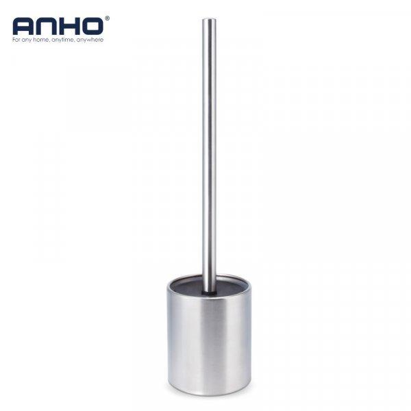 Хромированный ершик для унитаза ANHO (1.6*38 см)