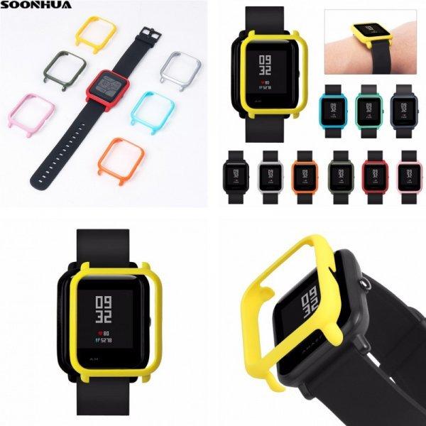 Защитный бампер для часов SOONHUA (10 цветов, для Xiaomi, Huami, Amazfit)