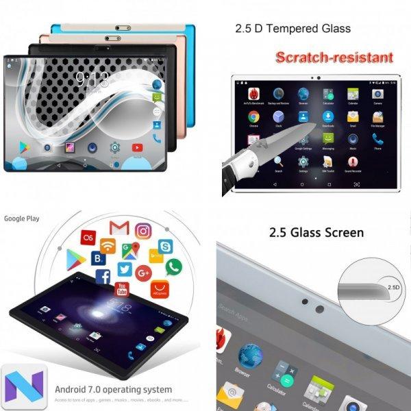 """Игровой планшет  Lonwalk 10"""" (Octa core 4 ГБ  3G SIM_подарок)"""