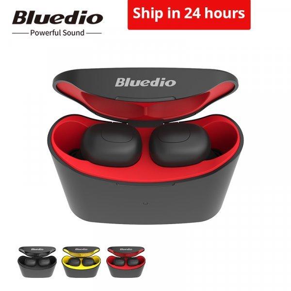 Шикарные беспроводные наушники Bluedio (3 цвета)