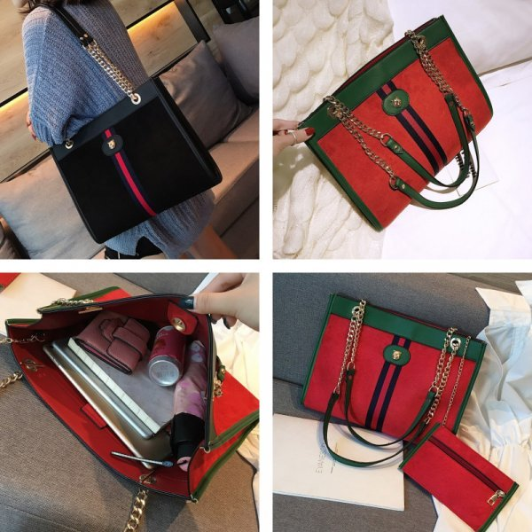 Дизайнерская сумка шоппер RORETE (4 цвета)