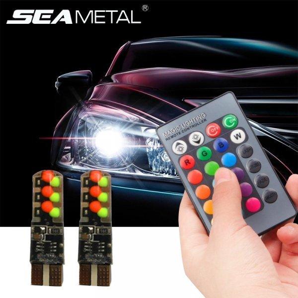Лампочки для габаритных огней авто с пультом SEAMETAL