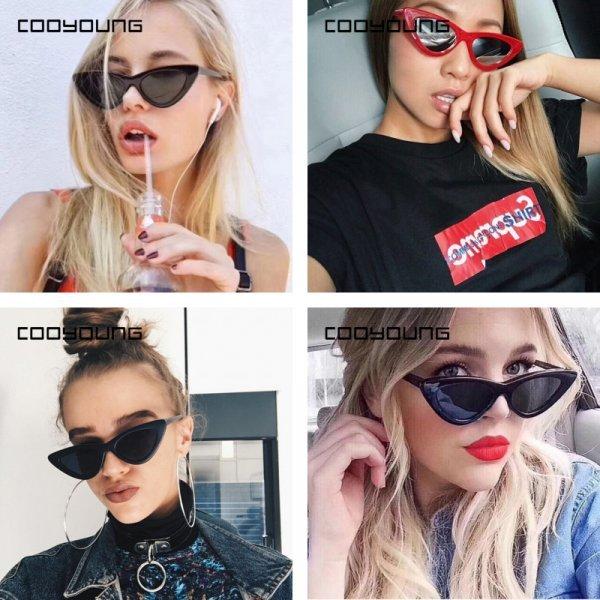 Модные солнцезащитные очки для женщин COOYOUNG (10 цветов, UV400)