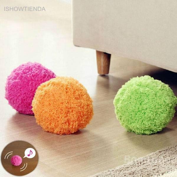 Чудо шарики Vovotrade Dust Cleaner избавят от  пыли на полу  (2.5 Вт, 2 АА)