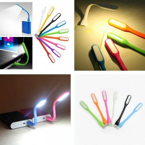 Мини USB фонарик для любых устройств Liplastin (5 цветов, 168*18 мм)