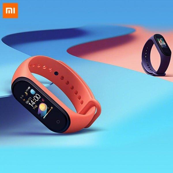 Фитнес браслет Xiaomi mi Band 4 (24 комплектации)