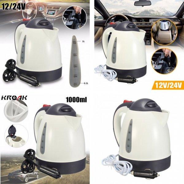 Компактный чайник для авто KROAK (1 л)