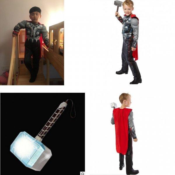 Новогодний костюм для мальчика Тор (3 размера)