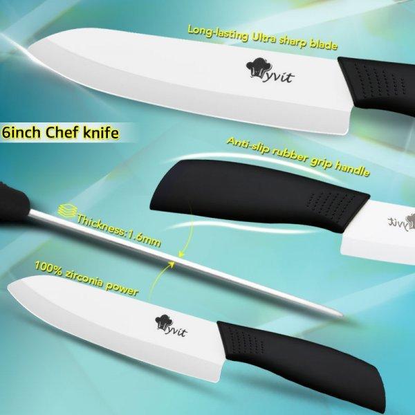 Набор керамических ножей MYVIT (3-4 шт)
