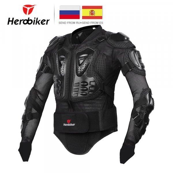 Защитный панцирь для мотокросса HEROBIKER (6 размеров, 2 цвета)