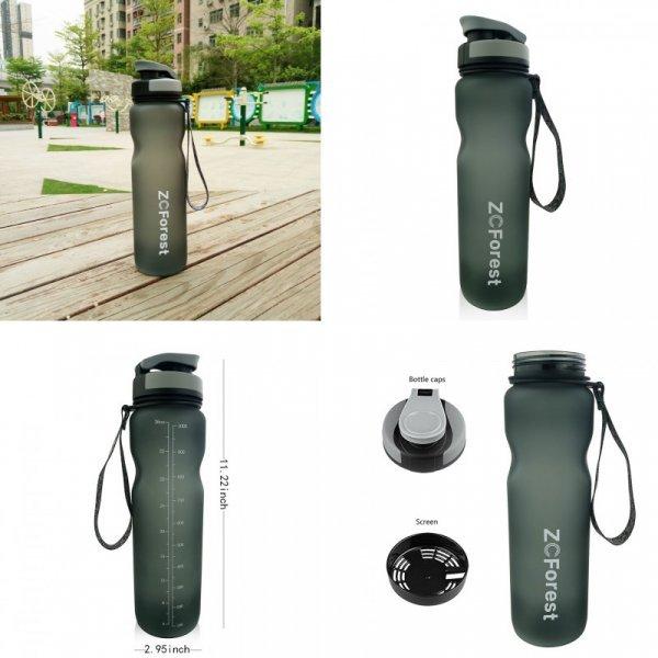 Спортивная бутылка для воды ZCForest (1л)
