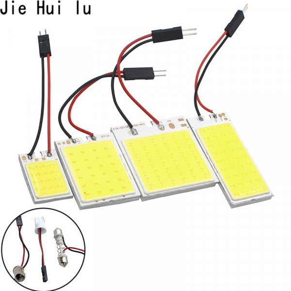 LED-чип в лампу для чтения авто