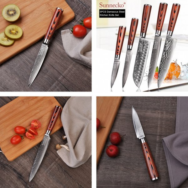 Японский нож шеф-повара SUNNECKO