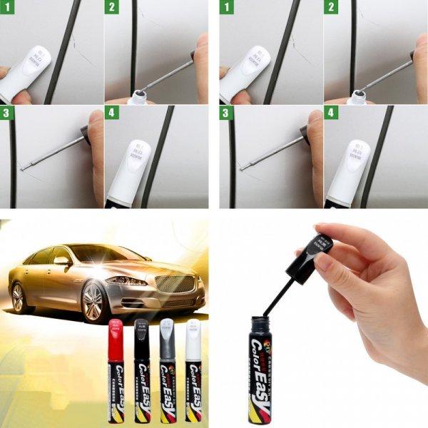 Краска-карандаш от сколов на кузове Sikeo (4 цвета)