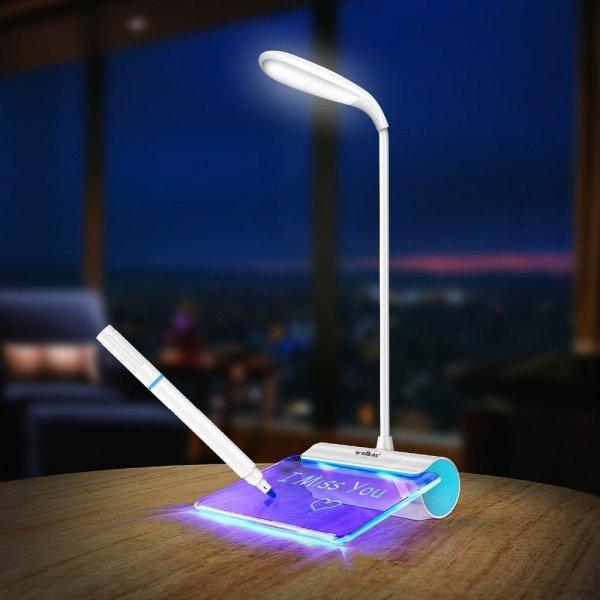 Необычная настольная лампа QACA