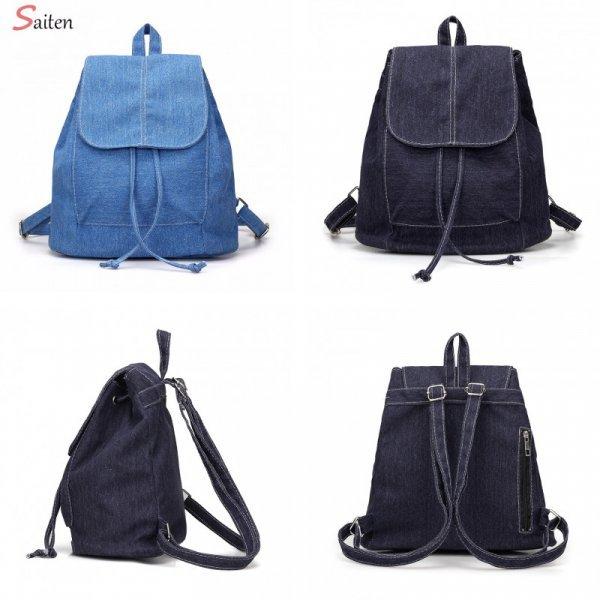 Джинсовый рюкзачок от SAITEN (4 цвета)