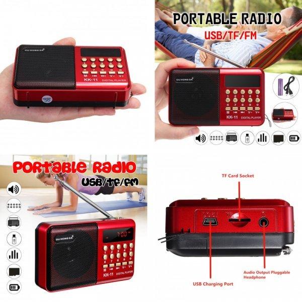 Радио ECsee с MP3.