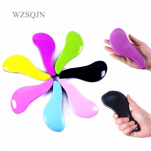 Карманная расческа для длинных волос WZSQJN (7 цветов, 15*6*3 см)